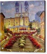 Spanish Steps, Rome Acrylic Print