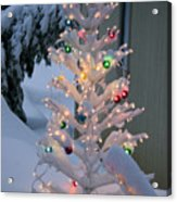 Sparkly Tree Acrylic Print