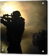 Special Operation Forces Combat Divers Acrylic Print