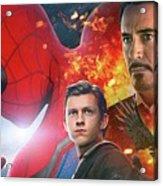 Spider-man Homecoming Acrylic Print