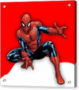 Spiderman Collection Acrylic Print