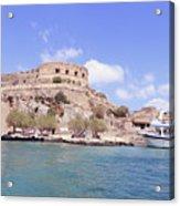 Spinalonga Greece Acrylic Print