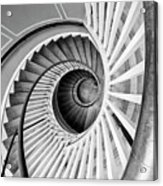 Spiral Staircase Lowndes Grove Acrylic Print