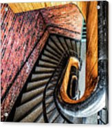 Spiral Stairwell Acrylic Print