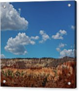 Spires Of Bryce Canyon Acrylic Print
