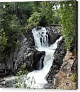 Split Rock Falls. Acrylic Print
