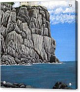 Split Rock Lighthouse Acrylic Print