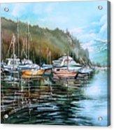 Spring Deep Cove  Acrylic Print