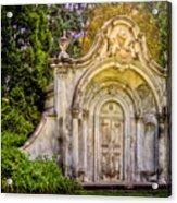 Spring Grove Mausoleum Acrylic Print