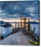 Spring Morning At Discovery Point Acrylic Print