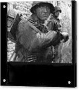Ss Waffen Corporal Otto Funk Circa 1943 Acrylic Print