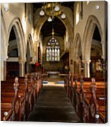 St Andrews Church, Aysgarth Acrylic Print