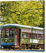 St. Charles Ave. Streetcar 2 Acrylic Print