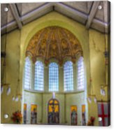St George In The East Church London Acrylic Print