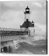 St. Joseph North Pier Lighthouse Acrylic Print