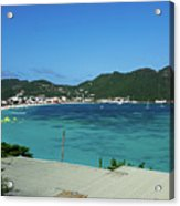 St. Marrten Caribbean Island Acrylic Print