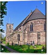 St Mary's Church - Tutbury Acrylic Print