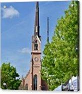 St. Matthew's German Evangelical Lutheran Church Acrylic Print