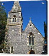 St Peters Marlow Acrylic Print