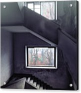 Stairs And Windows Acrylic Print