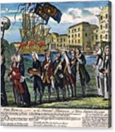 Stamp Act: Repeal, 1766 Acrylic Print