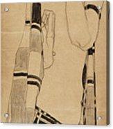Standing Girl Acrylic Print