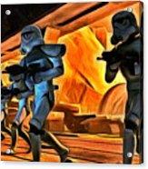 Star Wars Invasion Acrylic Print