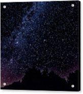 Stars Over Black Oak Lake 1 Acrylic Print