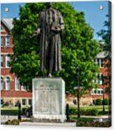 Statue Of Chief Justice John Marshall Acrylic Print