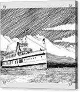Steamship Virginia V Acrylic Print
