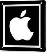 Steve Jobs Apple Acrylic Print