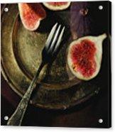 Still Life With Fresh Figs Acrylic Print