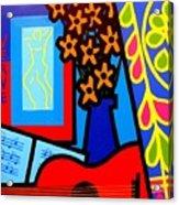 Still Life With Henri Matisse's Verve Acrylic Print