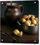 Still Life With Potatoes Acrylic Print