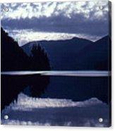 Still Mountain Lake 2  Acrylic Print