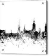 Stockholm Sweden Skyline Acrylic Print