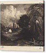 Stoke-by-neyland Acrylic Print
