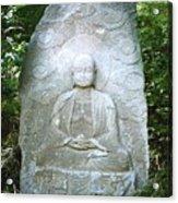 Stone Buddha  Acrylic Print