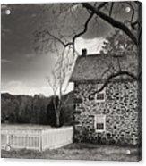 Stone Farmhouse Acrylic Print