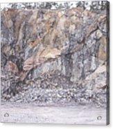 Stone Mine Acrylic Print