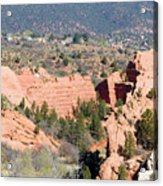 Stone Quarry At Red Rock Canyon Open Space Park Acrylic Print