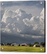 Storm Clouds Over Florida Acrylic Print
