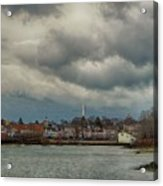 Storm Clouds Over The Bass River Acrylic Print