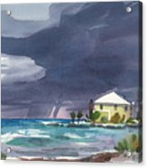 Storm Over Key West Acrylic Print