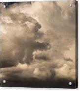 Storm Over Table Rock Acrylic Print
