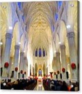 St.patricks Cathedral Restored Acrylic Print