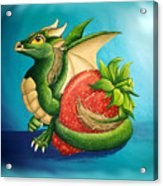Strawberry Dragon Acrylic Print