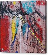 Stringed Abstract Acrylic Print