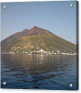 Stromboli Volcano, Aeolian Islands Acrylic Print