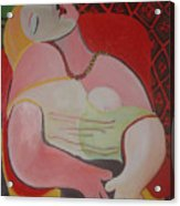 study after PICASSO Acrylic Print